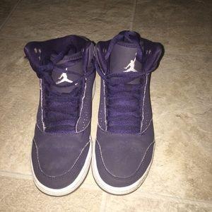 Purple Jordan's